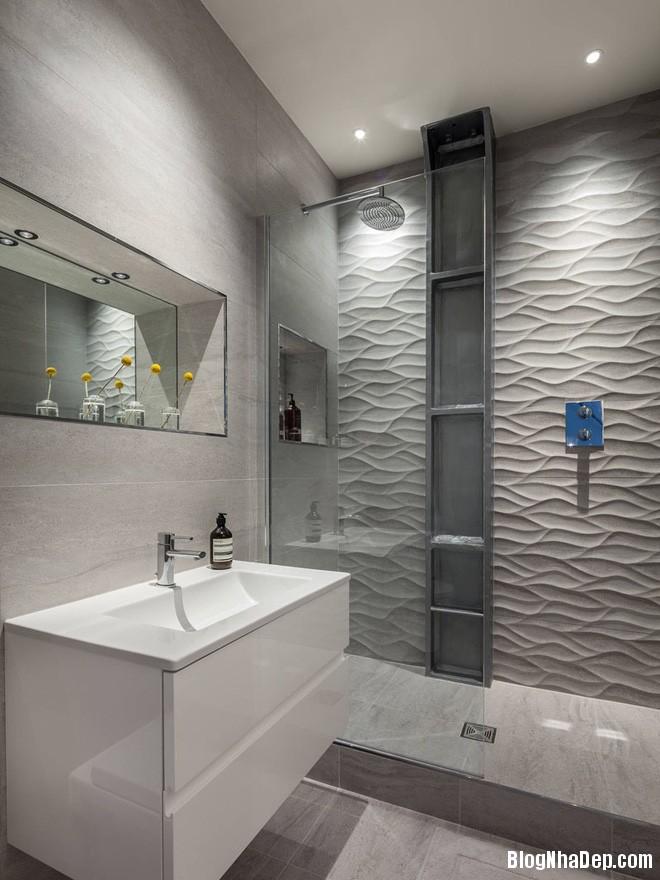 img20170614085138359 Sáng bừng không gian phòng tắm với gạch đá lát tường 3D