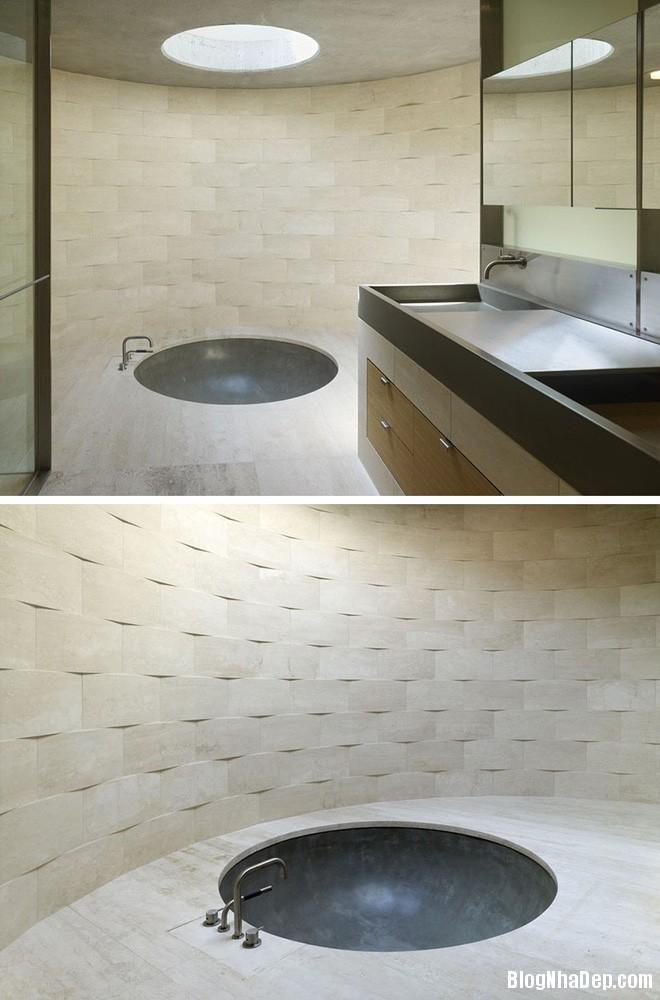 img20170614085140218 Sáng bừng không gian phòng tắm với gạch đá lát tường 3D