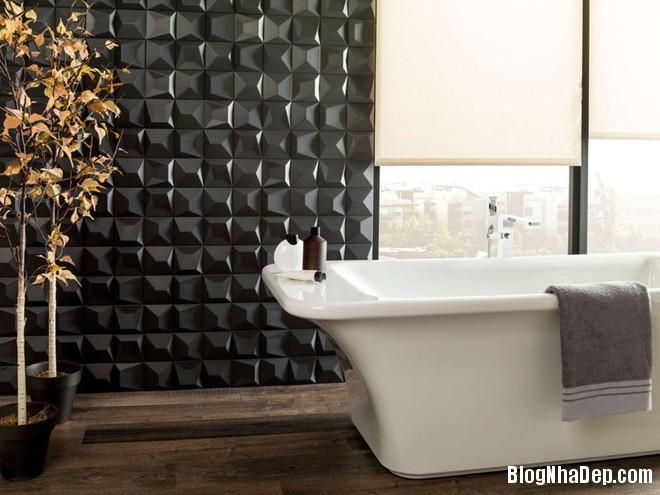 img20170614085142234 Sáng bừng không gian phòng tắm với gạch đá lát tường 3D