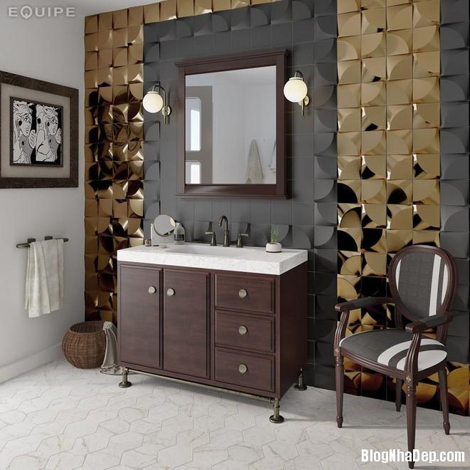 img20170614085143031 Sáng bừng không gian phòng tắm với gạch đá lát tường 3D