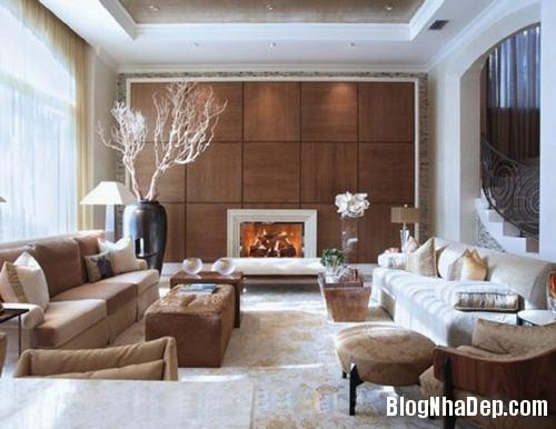 153448baoxaydung image001 Trang trí bức tường gỗ cho không gian phòng khách thêm ấm áp