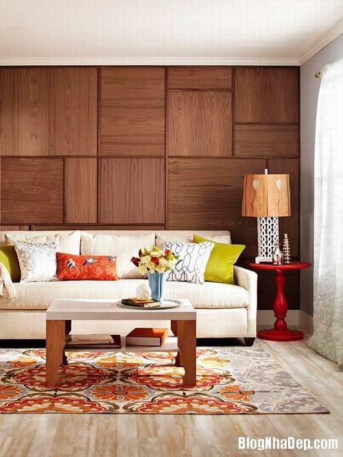 153448baoxaydung image003 Trang trí bức tường gỗ cho không gian phòng khách thêm ấm áp
