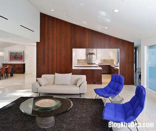 153449baoxaydung image007 Trang trí bức tường gỗ cho không gian phòng khách thêm ấm áp