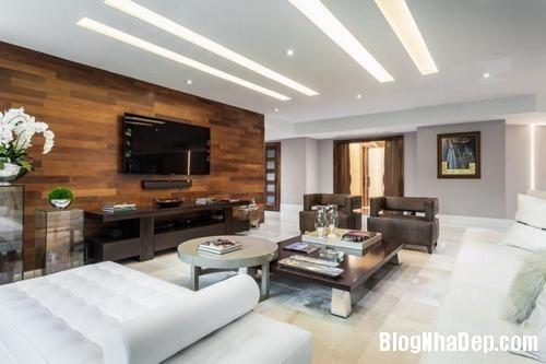 153449baoxaydung image008 Trang trí bức tường gỗ cho không gian phòng khách thêm ấm áp