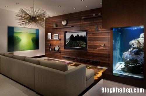 153449baoxaydung image009 Trang trí bức tường gỗ cho không gian phòng khách thêm ấm áp