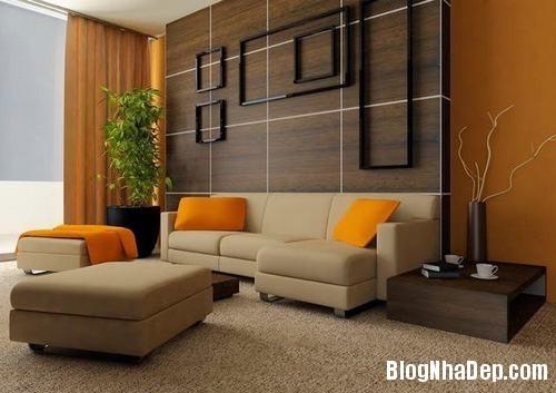 153449baoxaydung image014 Trang trí bức tường gỗ cho không gian phòng khách thêm ấm áp