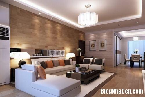 153450baoxaydung image016 Trang trí bức tường gỗ cho không gian phòng khách thêm ấm áp