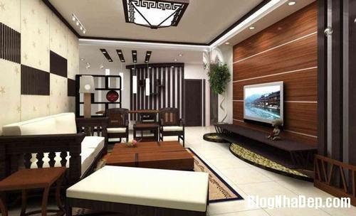 153450baoxaydung image017 Trang trí bức tường gỗ cho không gian phòng khách thêm ấm áp