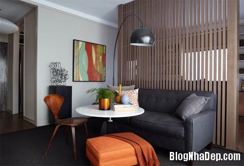 090317baoxaydung image006 Không gian phòng khách đẹp hoàn hảo với 2 gam màu nâu và xám