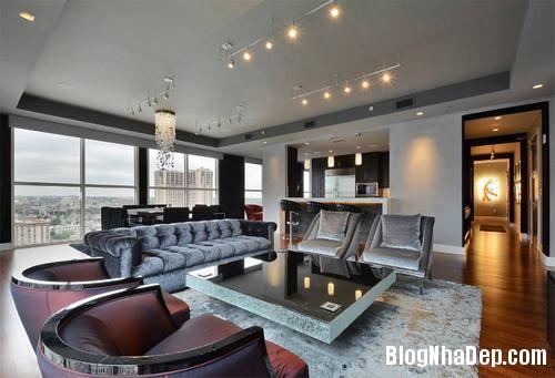 090318baoxaydung image007 Không gian phòng khách đẹp hoàn hảo với 2 gam màu nâu và xám