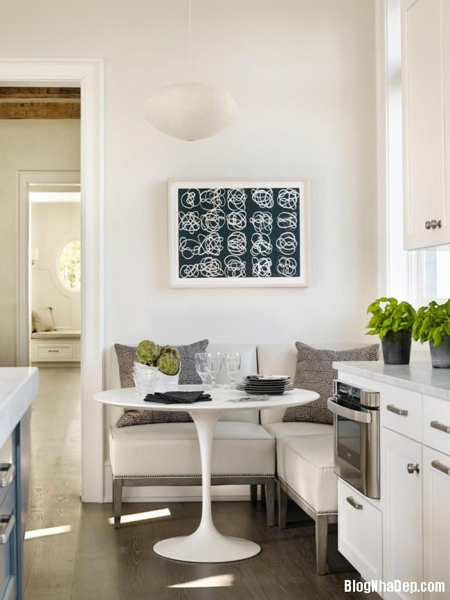 1113 Thiết kế bàn tròn đẹp mắt cho không gian bếp nhỏ