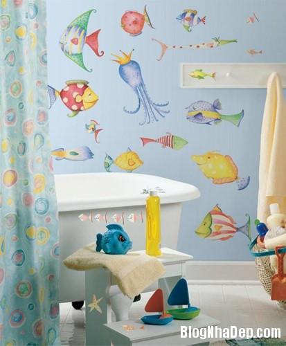 144728baoxaydung image005 Tạo niềm vui bất ngờ cho bé với mẫu phòng ngủ chủ đề bãi biển siêu đáng yêu