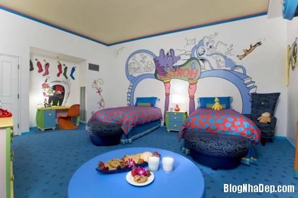 144729baoxaydung image006 Tạo niềm vui bất ngờ cho bé với mẫu phòng ngủ chủ đề bãi biển siêu đáng yêu