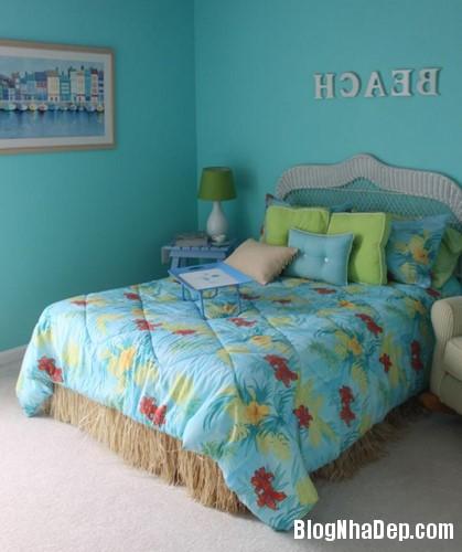 144729baoxaydung image007 Tạo niềm vui bất ngờ cho bé với mẫu phòng ngủ chủ đề bãi biển siêu đáng yêu