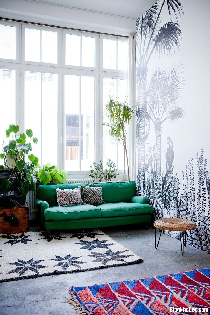 1510 Mẫu phòng khách vừa xanh vừa đẹp thân thiện cho ngôi nhà