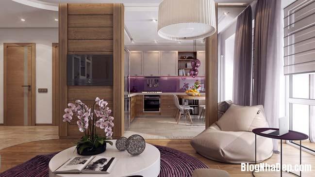 082203 3 large Mẫu căn hộ 1 phòng ngủ đẹp ấm cúng pha chút lãng mạn