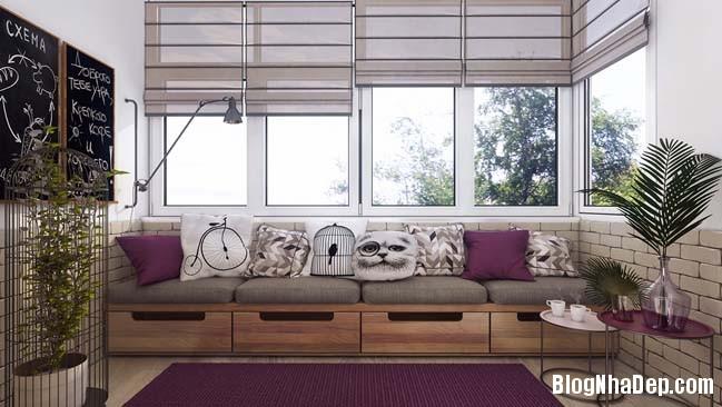 082203 6 large Mẫu căn hộ 1 phòng ngủ đẹp ấm cúng pha chút lãng mạn