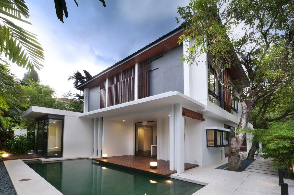 Biệt thự hiện đại 2 tầng sang trọng - MAU 0003