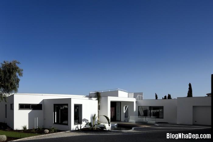 colunata house by mario martins 01 Colunata House / Ngôi nhà đơn giản mà sang trọng ở Lagos, Bồ Đào Nha