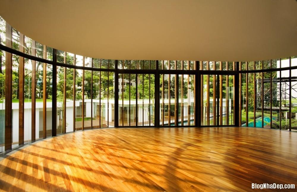 Mau Nha Dep 13310 Mẫu nhà đẹp với không gian sân vườn rộng rãi