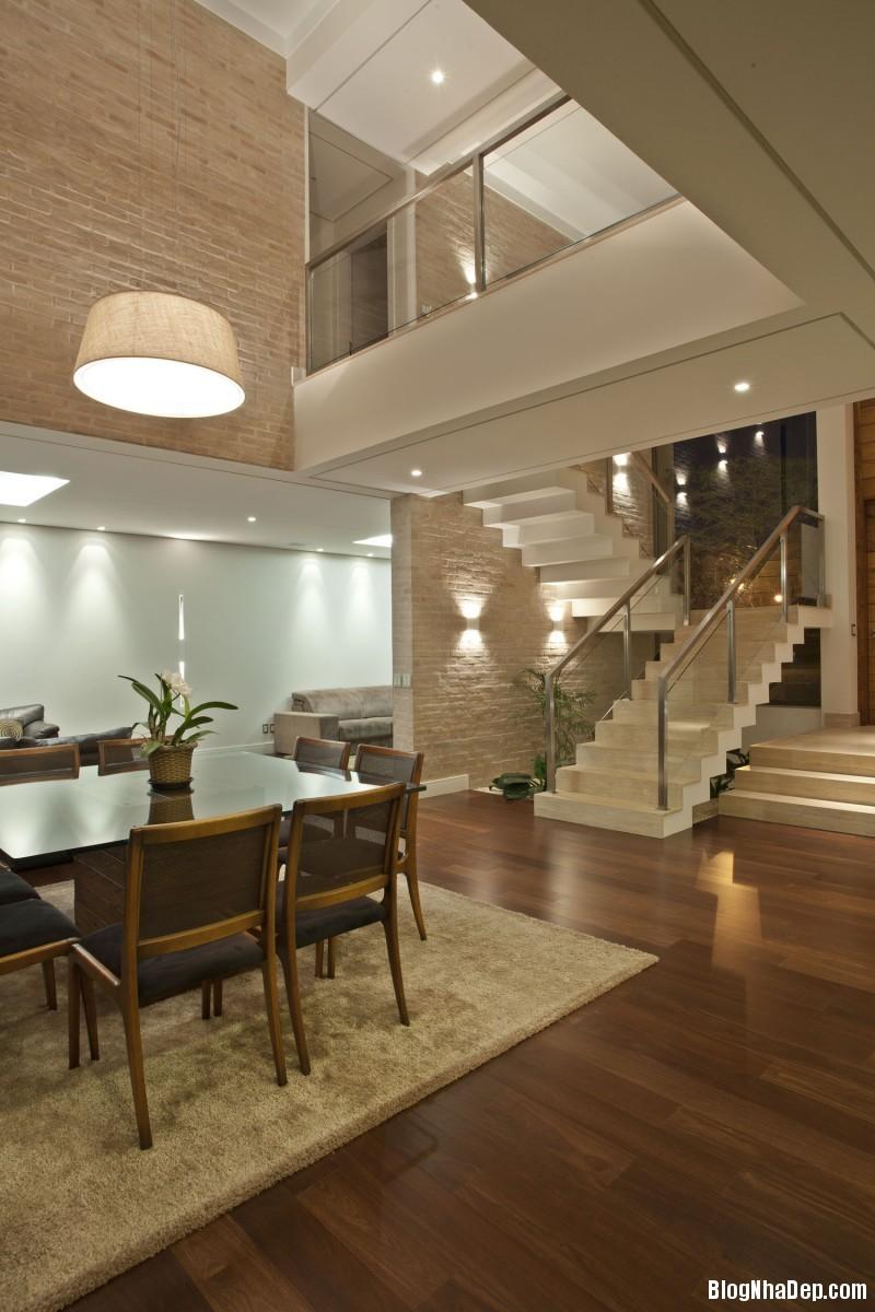 Mau Nha Dep 2 Tang 15004 Mẫu nhà đẹp 2 tầng hiện đại Residencia DF với nội thất tinh tế