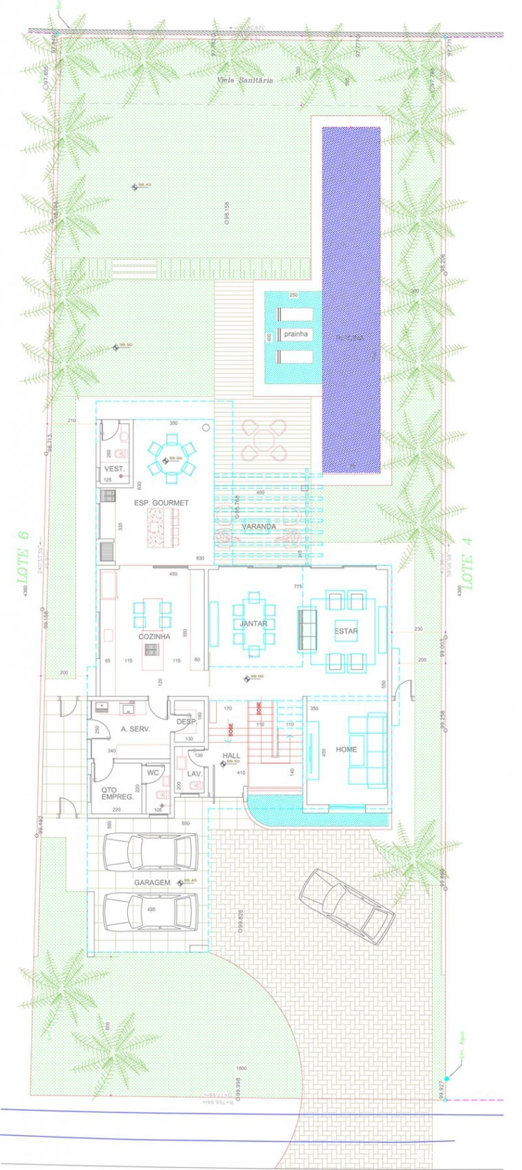 Mau Nha Dep 2 Tang 15019 Mẫu nhà đẹp 2 tầng hiện đại Residencia DF với nội thất tinh tế