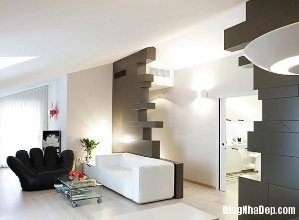 Mau Thiet Ke Nha Dep 02311 Nhà diện tích 80 m2 thiết kế theo phong cách hiện đại