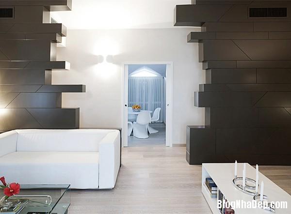 Mau Thiet Ke Nha Dep 0234 Nhà diện tích 80 m2 thiết kế theo phong cách hiện đại