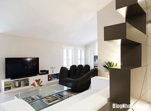 Mau Thiet Ke Nha Dep 0236 Nhà diện tích 80 m2 thiết kế theo phong cách hiện đại