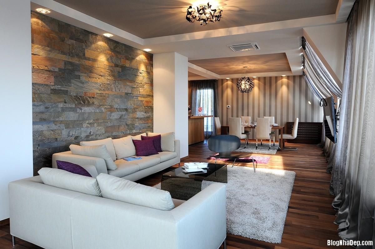 Mau Thiet Ke Nha Dep Belgrade 0431 Nhà Penthouse Với Nội Thất Hiện Đại
