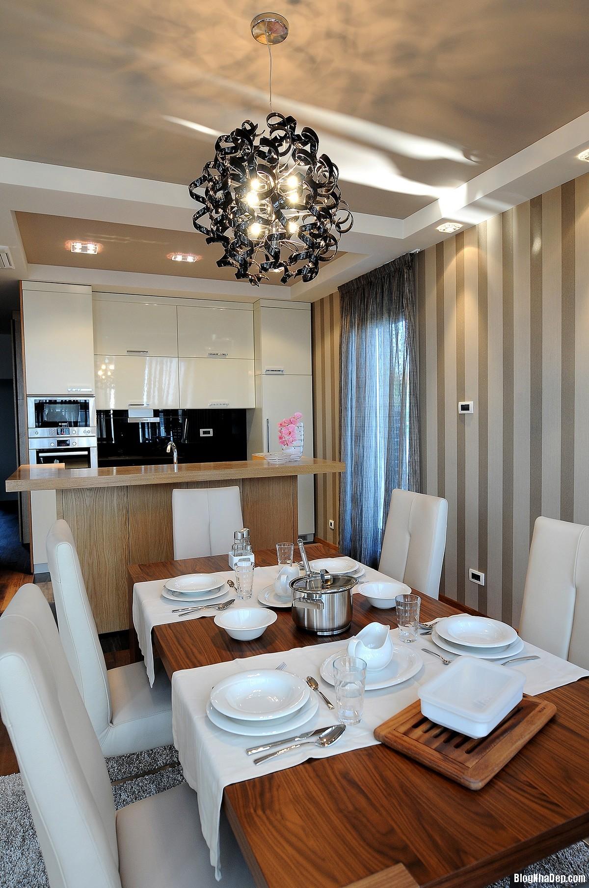 Mau Thiet Ke Nha Dep Belgrade 0434 Nhà Penthouse Với Nội Thất Hiện Đại