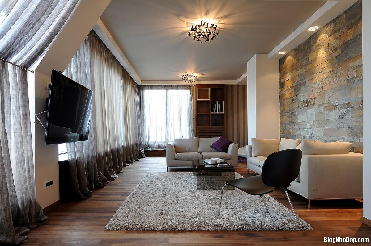 Mau Thiet Ke Nha Dep Belgrade 0439 Nhà Penthouse Với Nội Thất Hiện Đại