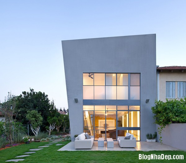 Mau Thiet Ke Nha Dep Eco Friendly House 0381 mẫu thiết kế nhà cấp 4 theo xu hướng tối giản hiện đại