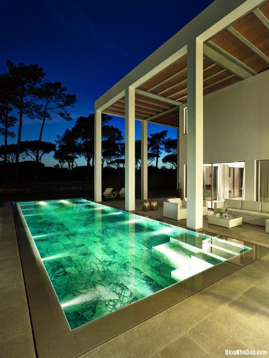 Mau Thiet Ke Nha Dep North House 0754 Mẫu nhà đẹp cạnh sân golf tại Bồ Đào Nha