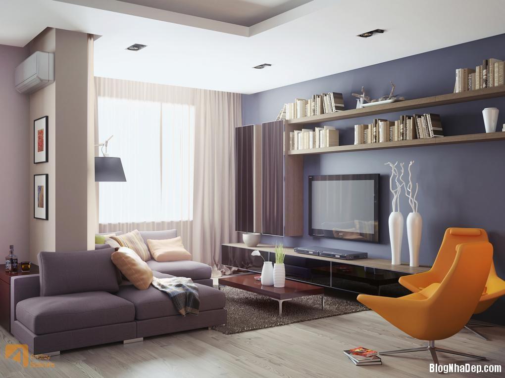 Mau Thiet Ke Nha Dep Tre Trung Hien Dai modern interior 05123 Mẫu nhà thiết kế trẻ trung và hiện đại