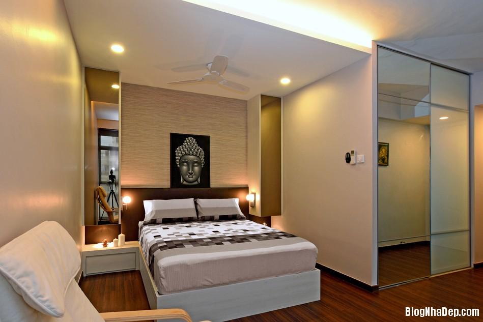 Mau Thiet Ke Nha Dep Va Am Cung 0905 Mẫu nhà chung cư ấm cúng cho vợ chồng trẻ