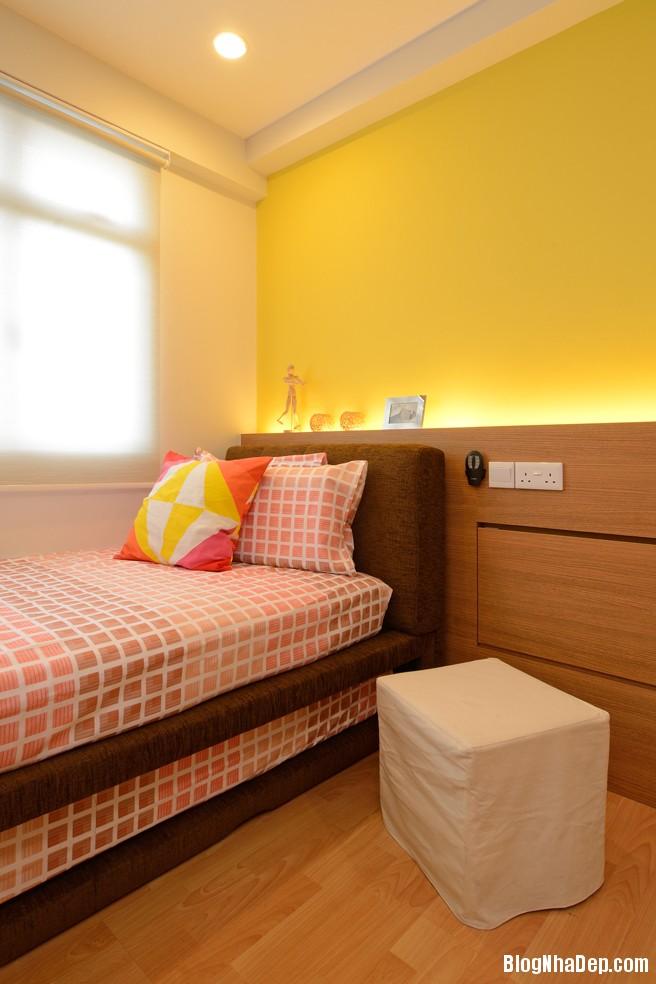 Mau Thiet Ke Nha Dep Va Am Cung 0907 Mẫu nhà chung cư ấm cúng cho vợ chồng trẻ