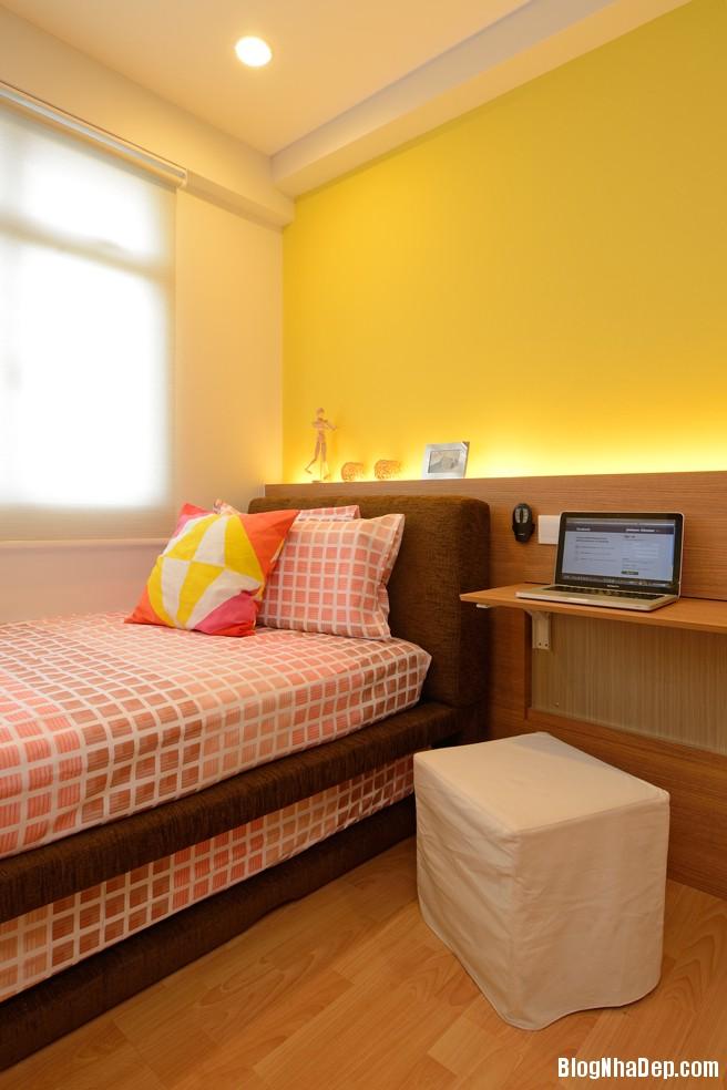 Mau Thiet Ke Nha Dep Va Am Cung 0908 Mẫu nhà chung cư ấm cúng cho vợ chồng trẻ