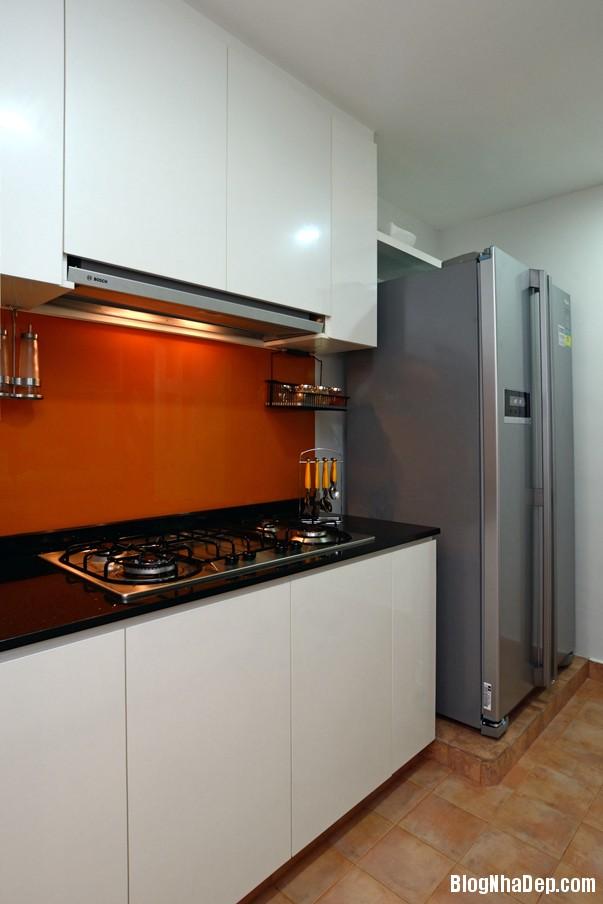 Mau Thiet Ke Nha Dep Va Am Cung 0909 Mẫu nhà chung cư ấm cúng cho vợ chồng trẻ