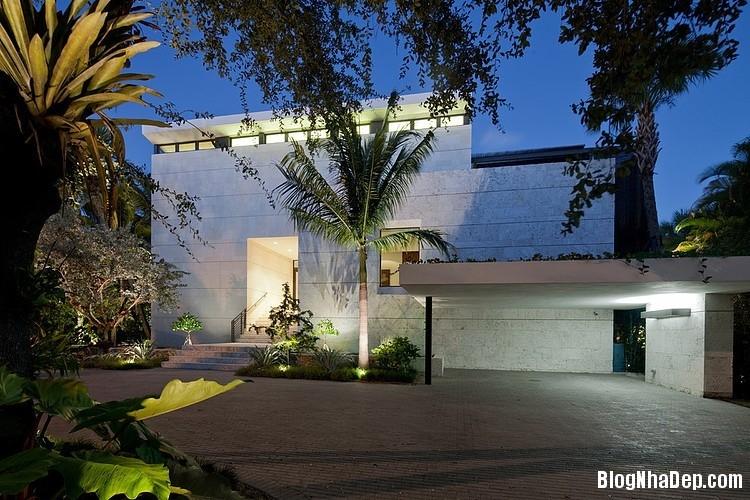 Nha 2 Tang Dep Nhin Ra Vinh 194021 Mẫu Nhà 2 Tầng Coral Gables ở Miami, US