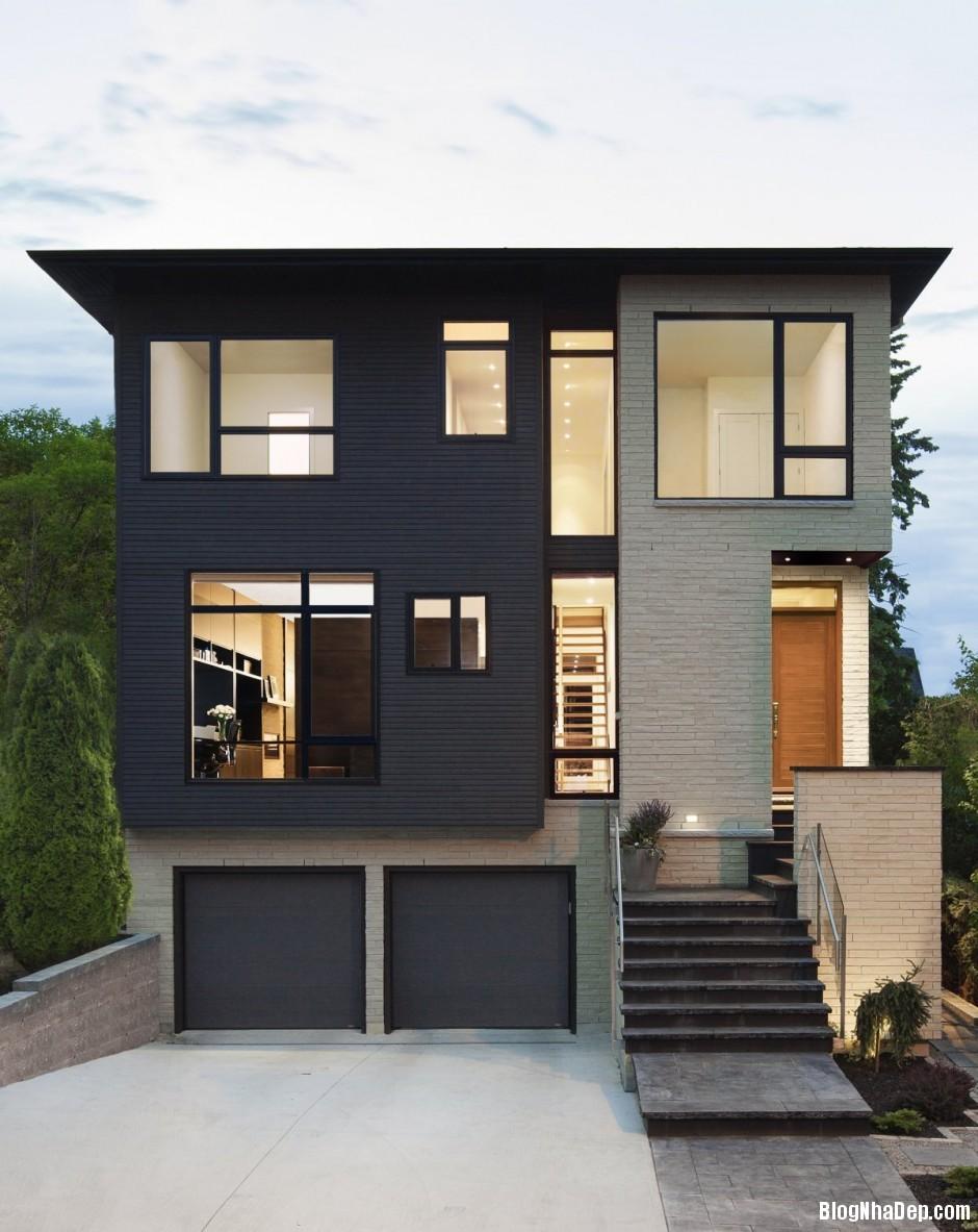 Nha Dep 2 Tang 0541 Nhà 2 tầng đẹp theo xu hướng kiến trúc xanh