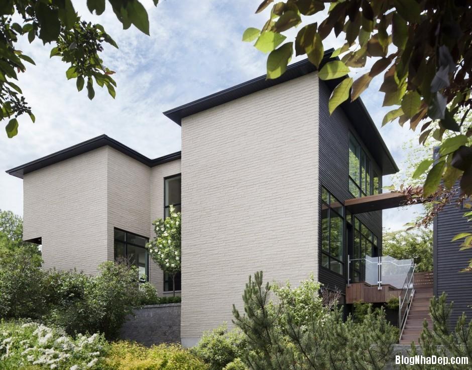 Nha Dep 2 Tang 0542 Nhà 2 tầng đẹp theo xu hướng kiến trúc xanh