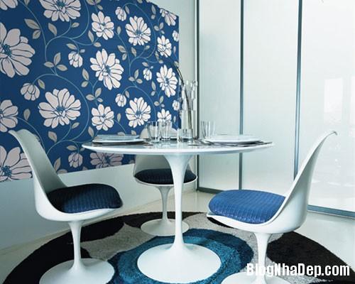 Kh ng gian s ng sinh ng h n v i gi y d n t ng blog for Papier a coller sur meuble