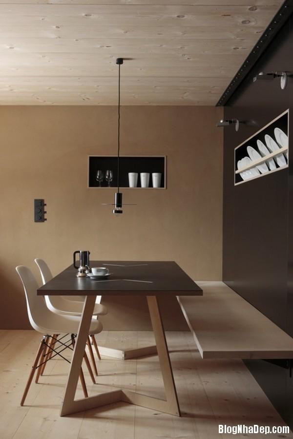 thiet ke nha nho 14 met vuong 3 Tư vấn thiết kế và bài trí nội thất cho ngôi nhà có diện tích 14,4 mét vuông