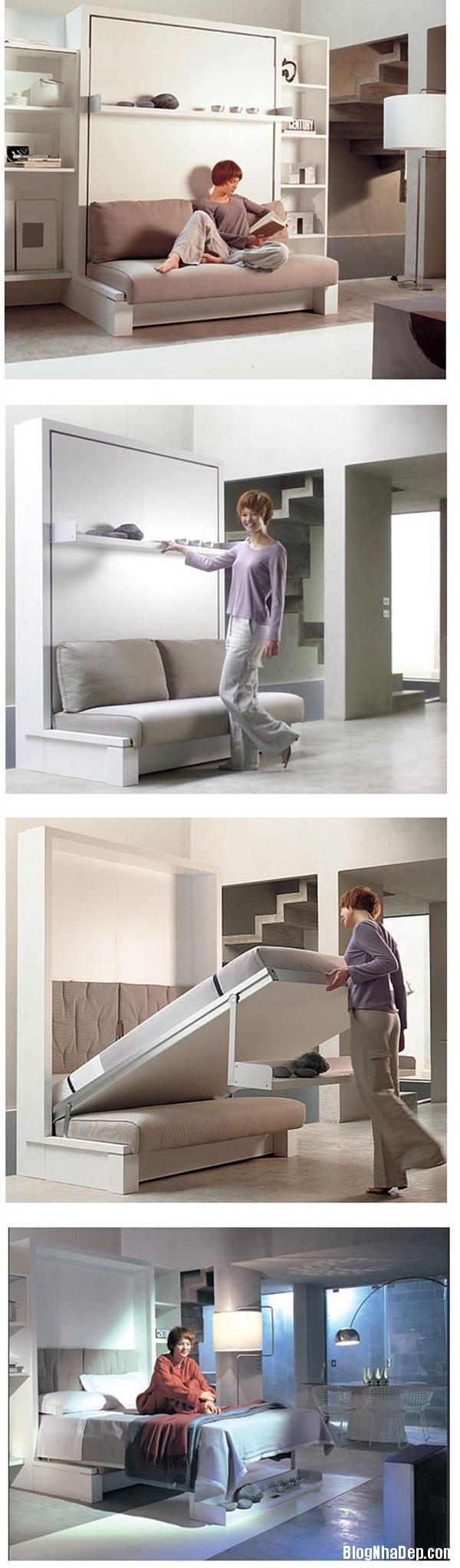 thiet ke nha nho 14 met vuong 5 Tư vấn thiết kế và bài trí nội thất cho ngôi nhà có diện tích 14,4 mét vuông