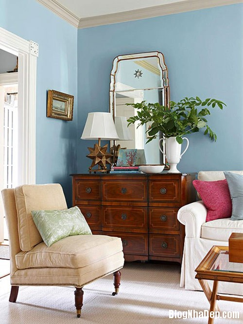 trang tri nha dep 43 Làm mới đồ nội thất cũ