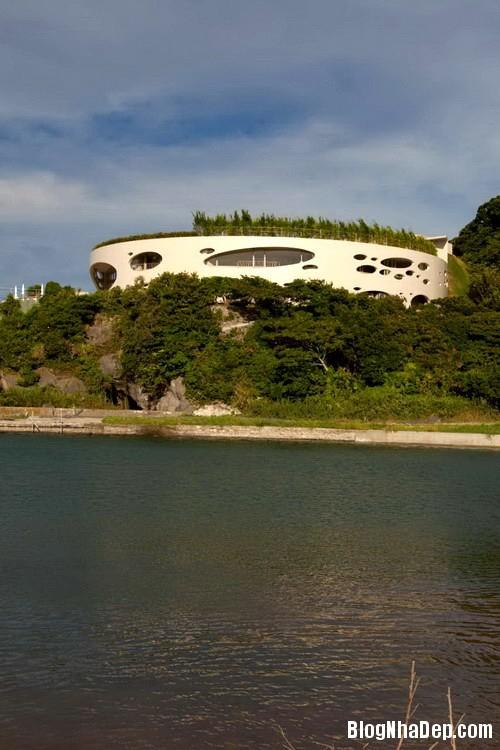 villa ronde   ciel rouge 03 Biệt thự Ronde ở Nhật Bản – Ciel Rouge