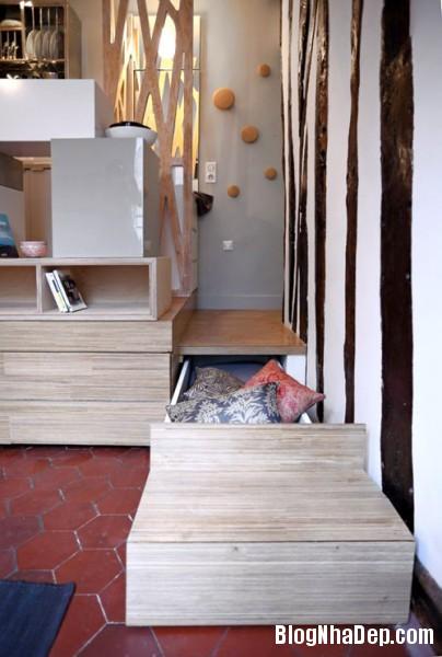 12m2280314 4 404x600 Thật khó tin với căn hộ 12m2 tiện nghi và thoải mái