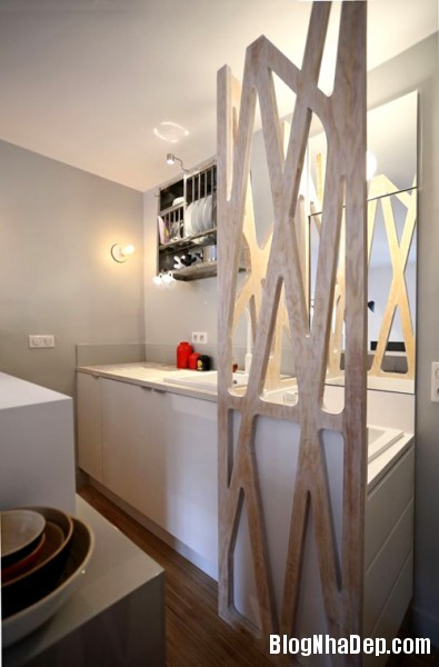 12m2280314 5 395x600 Thật khó tin với căn hộ 12m2 tiện nghi và thoải mái