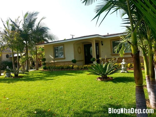 1389576360 1 Ngôi nhà nhỏ xinh ở vùng ngoại ô của ca sĩ Quang Lê